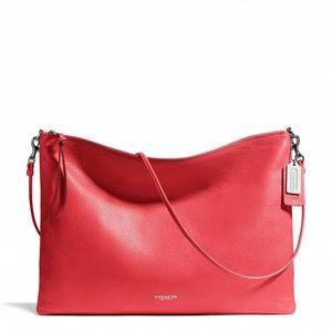Coach Red Convertible Bleecker Handbag